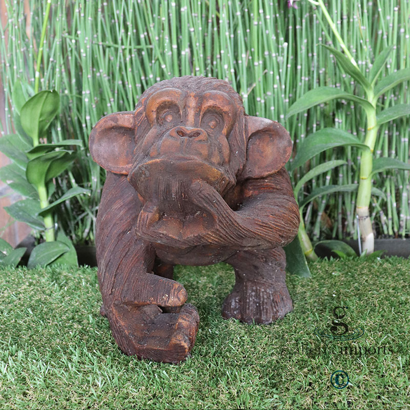 Code-A008-----Small-Monkey-27cm-H