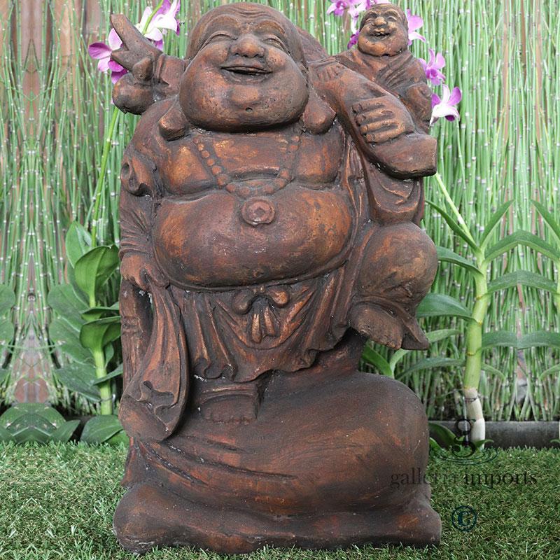 Code-B007-traveling-Buddha-With-Baby------50cm-H